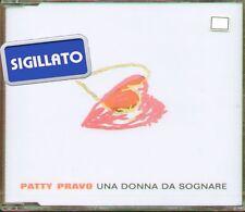 """PATTY PRAVO """" UNA DONNA DA SOGNARE """" CDsingle CDs NUOVO 2000 RARO (VASCO ROSSI)"""
