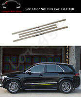 Side Door Sill Trim Mouldings Bar Plate Fits for Mercedez New GLE 2019 2020 2021