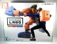 New! Nintendo Labo Robot Kit And Variety Kit - Nintendo Switch *READ Description