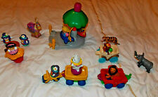 Fisher Price, Little People, Fairground, circus set. 19 pieces. Inc 11 figures