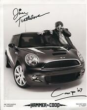 Jim Turtledove Autograph Signed Photo Hammer & Coop Mini Cooper