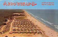 Myrtle Beach South Carolina Arrowhead Trailer Park Antique Postcard K27808