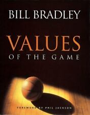 Values of the Game by Bill Bradley, Signed. Football Sports, like new!
