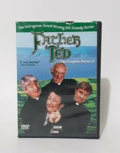 Father Ted The Complete TV Series 3 DVD, 2002, 2-Disc Set Hysterically Funny BBC