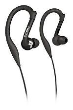Philips SHQ3200 auriculares ActionFit Lavable ultra ligera de Deportes, Oreja Negro
