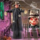 Lighted Hanging Scary Scarecrow Halloween Decoration