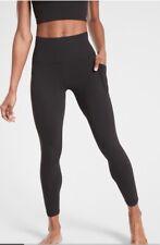 Athleta Salutation Stash Pocket II 7/8 Tight - Black NWOT XS Petite