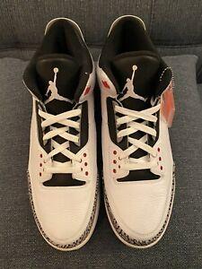 DS Air Jordan 3 White Cement Retro '88 (2013) SZ 13 - No Box