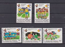 s5601) COMORES 1982 MNH** WC Football - Coppa Mondo Calcio 5v.