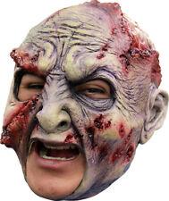 Máscara de Cabeza de chinless podridos Zombie con Halloween Horror Látex Barbijo