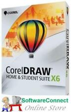 CorelDRAW X6 Home and Student Corel DRAW WIN Genuine GUARANTEE