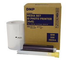 New IDW500 Passport Photo Printer Media - 4 x 6 - 350 prints IDW5004x6