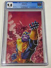 THANOS #13 CGC 9.8 Marvel Comics 7/18 Virgin 5th Printing 1st Cosmic Ghost Rider