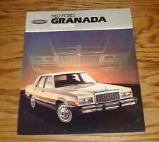 Original 1982 Ford Granada Sales Brochure 82 GLX GL L Wagon
