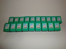 More details for genuine hp empty colour  ink cartridges x19 hp 342 x7 343 x4 344 x8 virgin carts