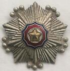 Korean War Flag Order 3rd Cl Horiz Pin Numbered Chinese People's Volunteer Army