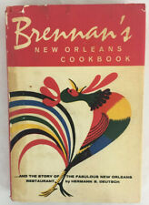 Brennan's New Orleans Cookbook (Revised Ed, 1964 Hardcover; 4th Printing) VGC