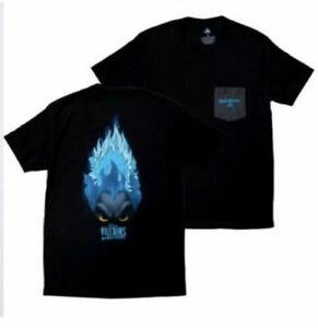 2020 Disney Magic Kingdom Villains After Hours Hades T-Shirt Adult L Large