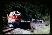 1973 Duplicate Slide of WP California Zephyr at Fremont, CA in 1968  aa 3-27a