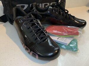 New Giro Empire W ACC Women's Cycling Shoes Black Womens Size EU 41 US 9