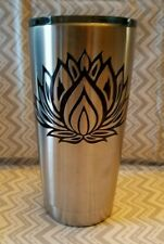 Decal/Sticker for Cooler Cup Lotus Flower