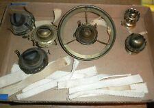 old kerosene or coal oil lamp parts fine kerosene light burners & wicks