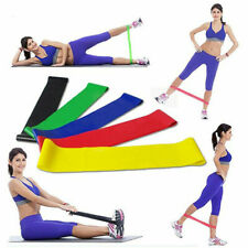 Set of 5 PCS Resistance Bands Exercise Loop Yoga Gym Workout Fitness Home Sports