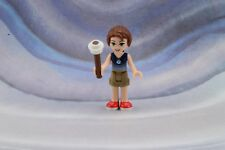 Lego Mini Figure Elves Emily Jones Dark Tan Shorts from Set 41175