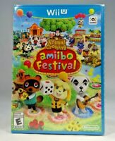 Wii U Animal Crossing: Amiibo Festival (Nintendo Wii U, 2015) Wii U Only !