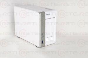 € 199+IVA QNAP TS-231 2-Bay 4TB(2x 2TB Segate) 2xGbE USB 3.1 eSata NAS WARRANTY