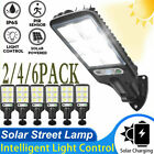 6 PACK 600W LED Solar Street Wall Light PIR Motion Sensor Outdoor Garden IP65