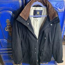 $4695 Loro Piana 100% Cashmere XL Black Icer Storm System Coat Jacket Mens