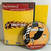 Crazy Taxi | Sony PlayStation 2 PS2 Game | Complete CIB Tested Clean Ships Fast!