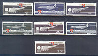 MALTA 1974; AVIATION 1974 - Malta Air Malta 7 Values MNH SET POST FAST AND FREE.