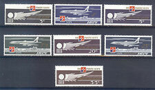 MALTA 1974; AVIATION 1974 - Malta, Air Malta, 7 Values MNH Set