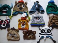 Gymboree Animal Face Winter HatsCap  Boys Sizes 0-6-12-18-24 mos 2T-3T 4T-5T NEW