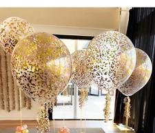 Balloon Confetti Gold Birthday Party Wedding Foil Baby Large Bride Birthday Deco