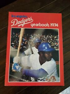 1974 Official Los Angeles Dodgers Yearbook Excellent Condition!!!
