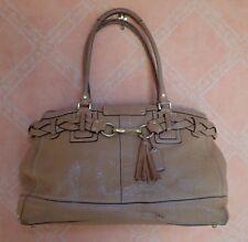 COACH Hamptons Braided Leather Carryall Bag Shoulder Bag J0693-10531