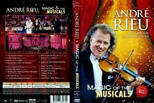 Andre RIEU - Magic Of The Musicals - DVD + 3 Autogramm Bilder Andre RIEU gratis