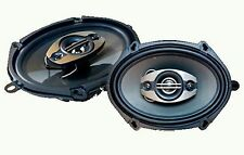 Pulsar PE-574 350W 5x7 6x8 4-way Coaxial Replacement Speaker System Front Rear