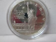 1986 US Statue of Liberty Proof Silver Dollar Commemorative Coin - Capsule