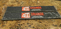 4 ORANGE Bar Matt, Anti Spill Matt- 20 inches -Q48~NEW Set of 2 ~BULK PRICE