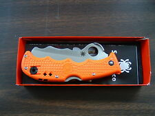 NEW - Spyderco Assist Orange FRN ~ C79OR - CombinationEdge- Free Shipping