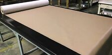 "Faux Leather Vinyl Fabric Camel Tan 30 Yards Pleather Upholstry Auto 54"" Wide"