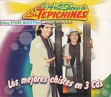 Los Tepechines El Anti Show Los Mejores chismes en 3CD New Nuevo sealed