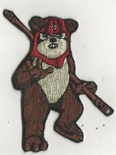 "RARE STARWARS "" EWOK"" IRON ON PATCH .3.5 X 2.5 INCH"
