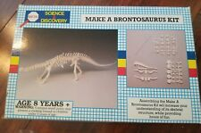 Brand New 1993 Battat Science & Discovery Make A Brontosaurus Kit -Free Ship-