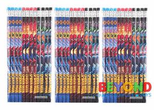Marvel Spiderman Wooden Pencils School Supplies Pencils Party Favors