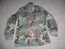 Military BDU Medium Long Field Jacket Coat Camo Camouflage US Army Men Boys #122